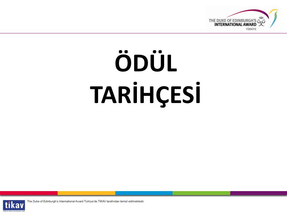 HABERLEŞME VE İLETİŞİM KANALLARI /InternationalAwardTR /intawardTR The Duke of Edinburgh's International Award-Türkiye info@intaward.org.tr