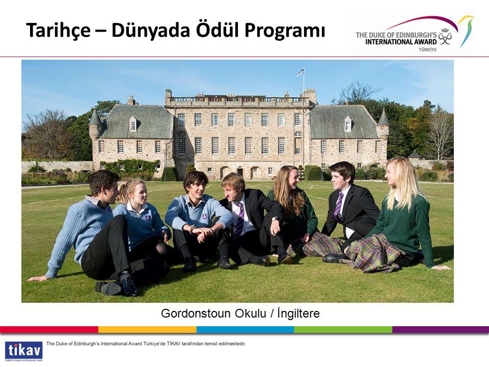 Gordonstoun Okulu / İngiltere Tarihçe – Dünyada Ödül Programı