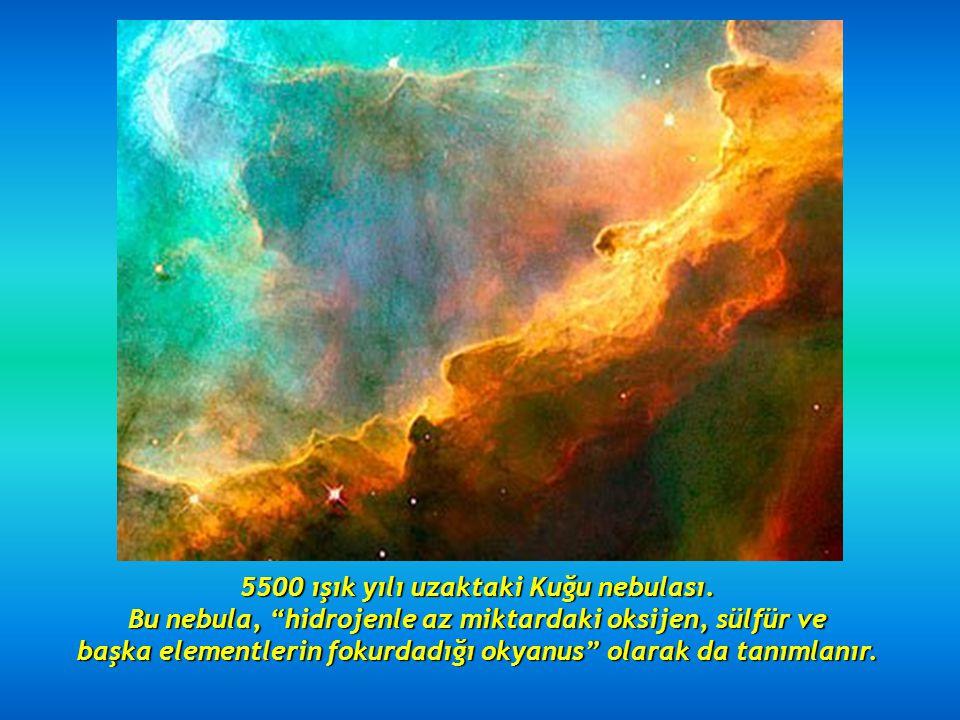 2.5 ışık yılı uzaktaki Koni nebulası.