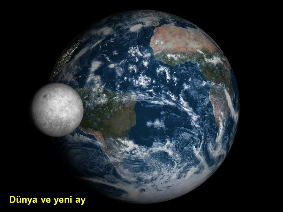 Dünya ve yükselen ay