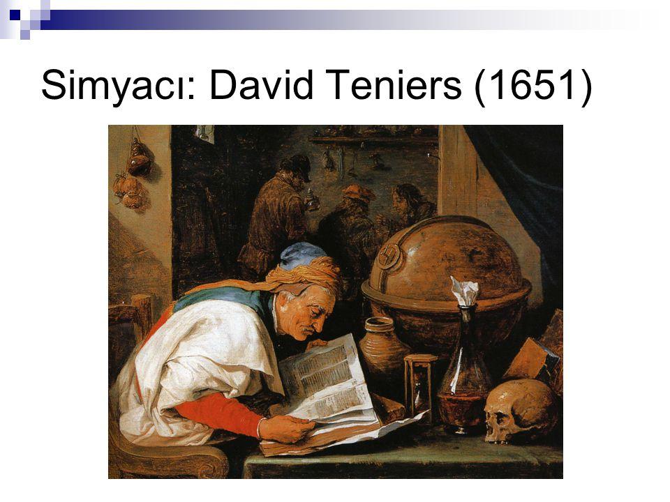 Simyacı: David Teniers (1651)