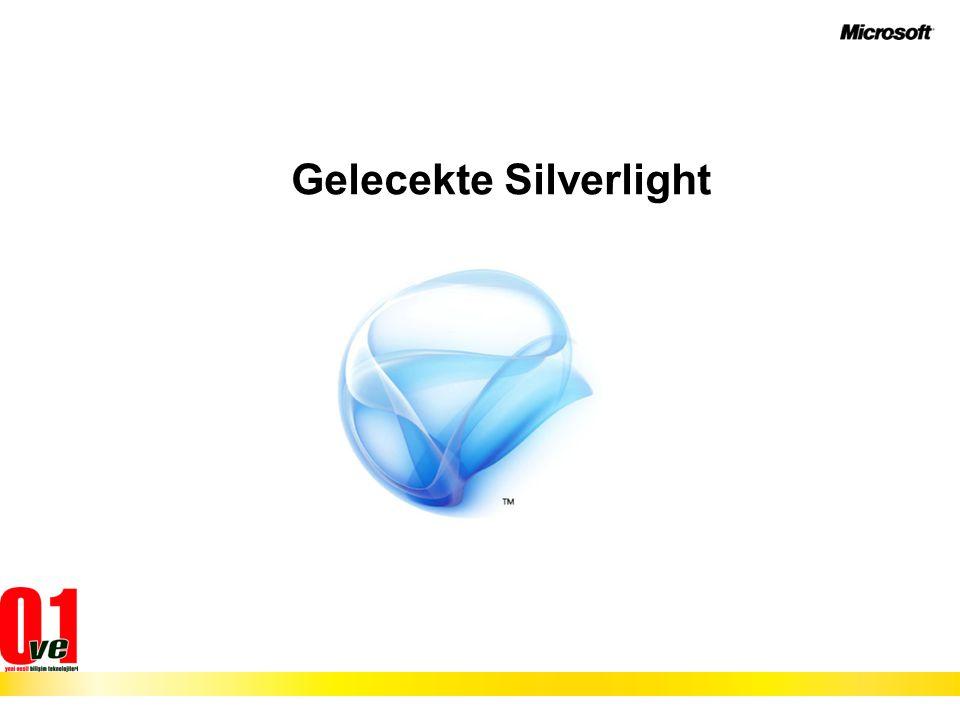 Gelecekte Silverlight