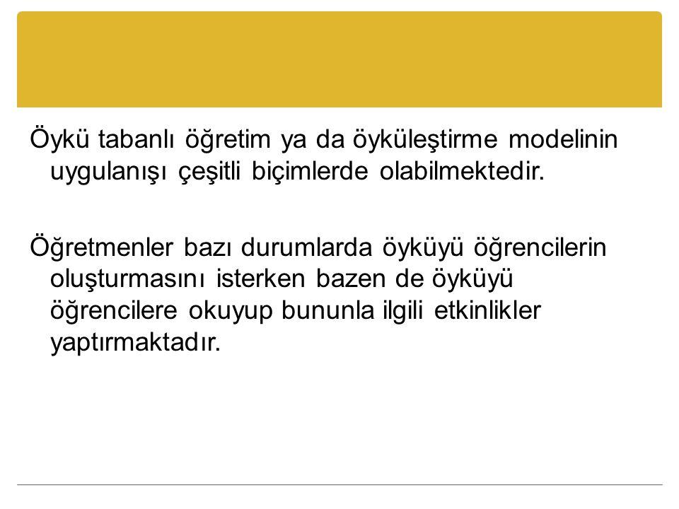 Örneğin 23 Nisan Çocuk Bayramı dolayısıyla Türkiye'ye gelen Özbek ve Alman çocukların bir Türk çocuğun evinde misafir olmalarıyla başlayan bir öykünün okunarak bu ülkelerle ilgili çeşitli etkinliklerin (araştırma, model yapma, resim çizme vs.) gerçekleştirilmesi bu model kapsamında yapılabilecek etkinliklerden bazılarıdır.