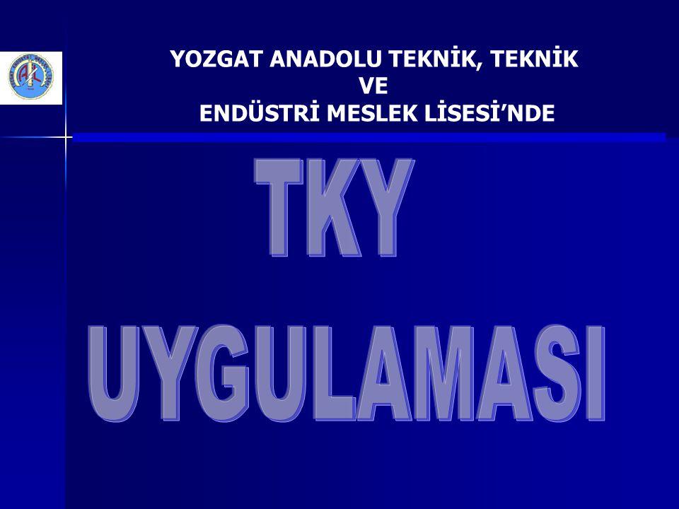 YOZGAT ANADOLU TEKNİK, TEKNİK VE ENDÜSTRİ MESLEK LİSESİ 20052005