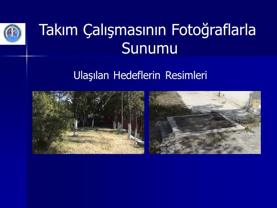 Takım Çalışmasının Fotoğraflarla Sunumu Ulaşılan Hedeflerin Resimleri