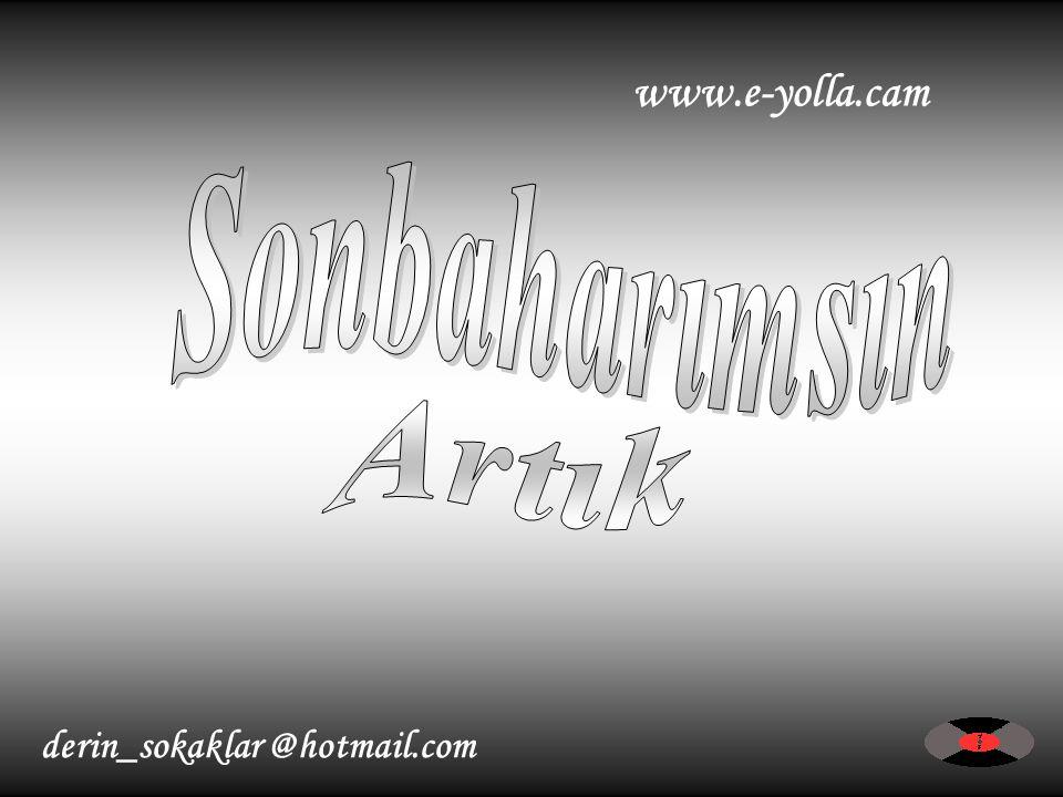 derin_sokaklar @hotmail.com www.e-yolla.cam