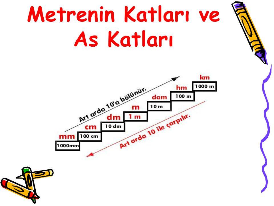 "Kilometre 1000 metre uzunluğa, 1 kilometre denir. Kilometre kısaca""km""şeklinde gösterilir. 1 km=1000 m olur."