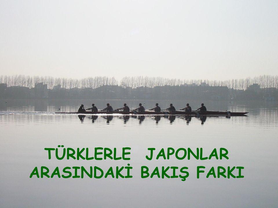 Türk ve Japon şirketleri arasında bir kürek yarışı düzenlenmesine karar verildi.