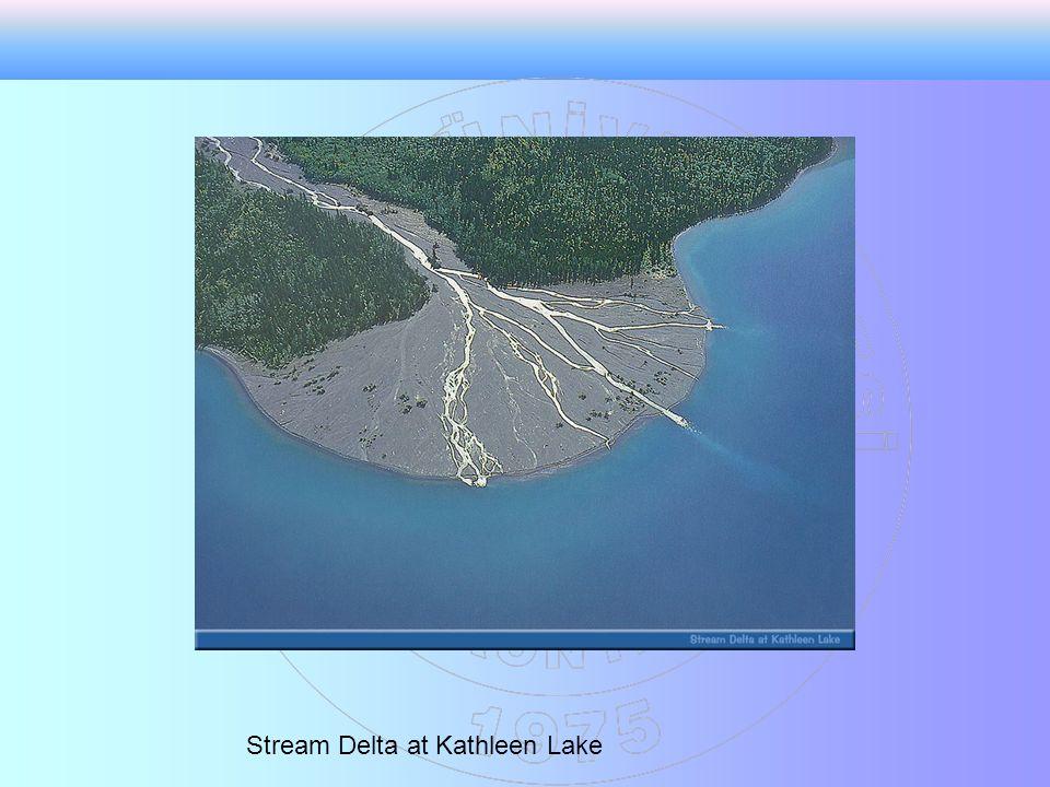 Stream Delta at Kathleen Lake