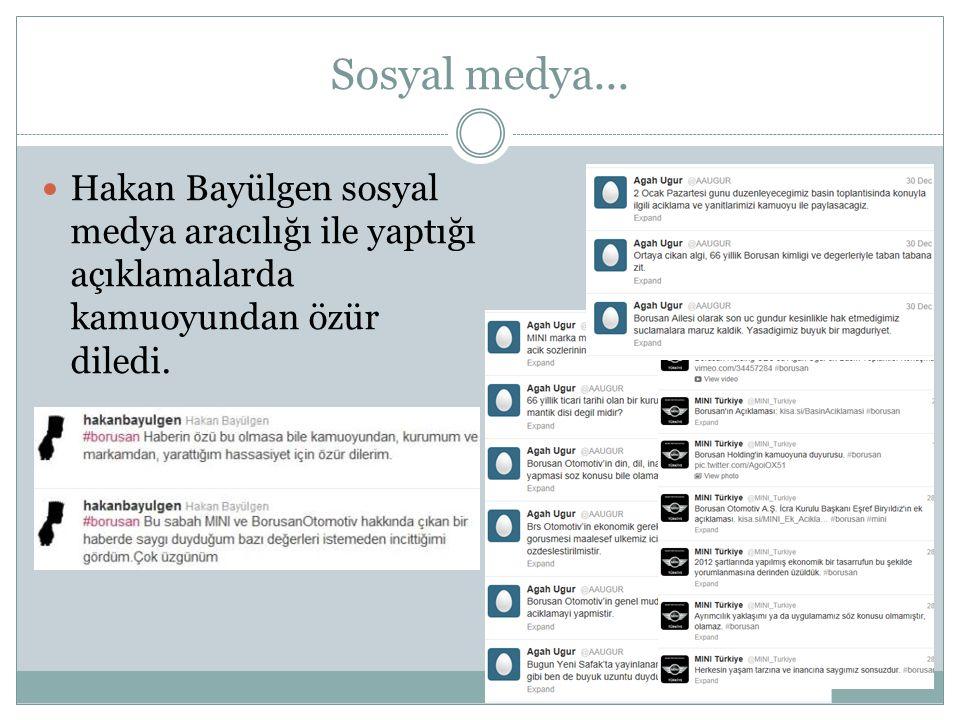 Sosyal medya... Hakan Bayülgen sosyal medya aracılığı ile yaptığı açıklamalarda kamuoyundan özür diledi.