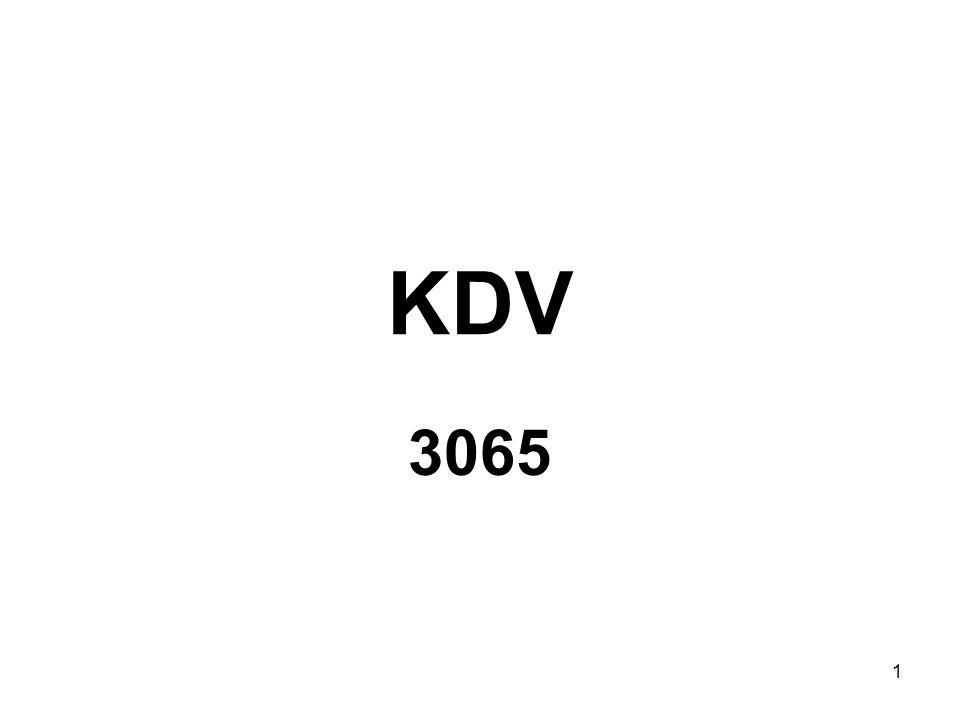 1 KDV 3065