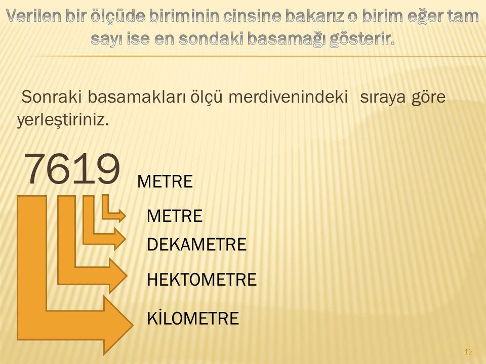 2000 MM= 200 CM200 CM= 20 DM20 DM= 2 M 11