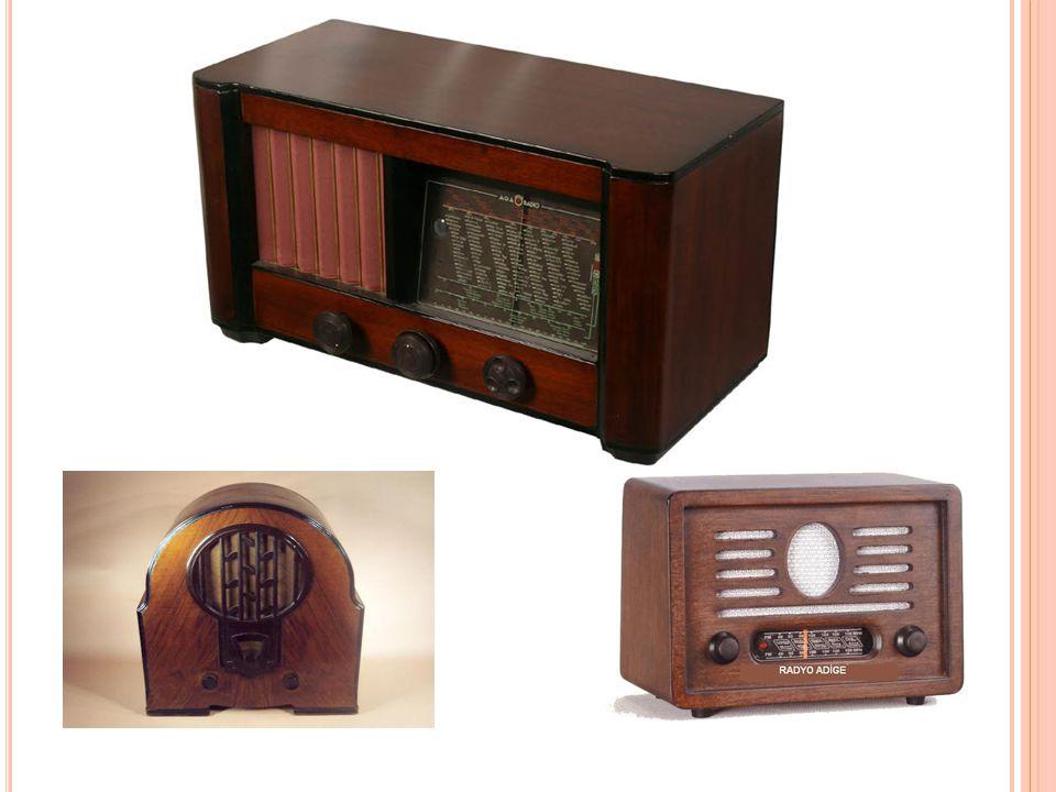 GGünümüzde radyo cep telefonu, saat, televizyon, mp3 çalar gibi bir çok elektronik aletin içinde bulunmaktadır.