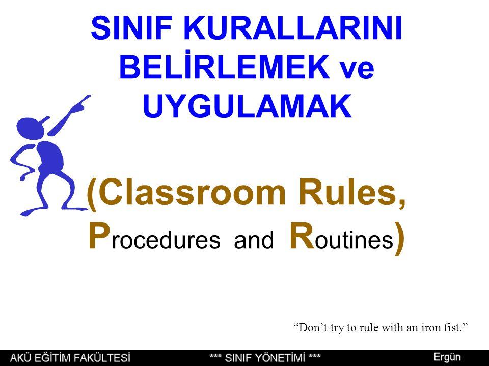 11 SINIF YÖNETİMİ Prof.Dr. Mustafa Ergün Afyon Kocatepe Üniversitesi Eğitim Fakültesi 5