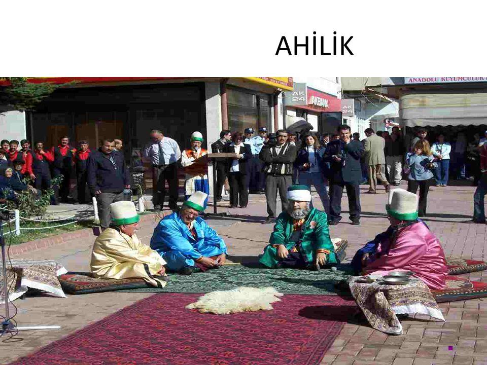 AHİLİK 1