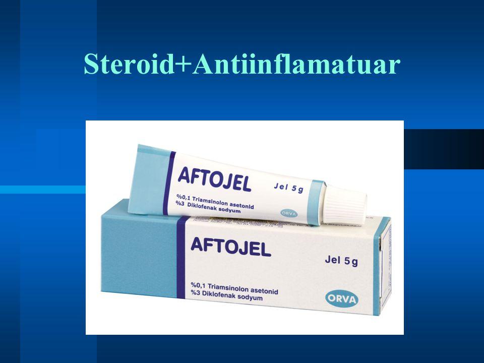 Steroid+Antiinflamatuar