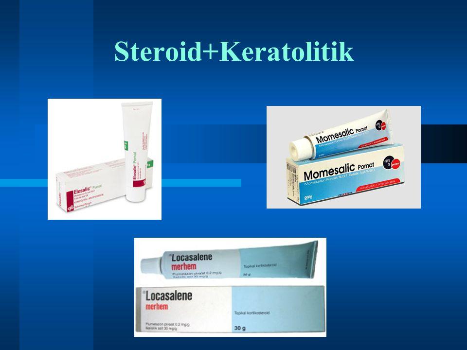 Steroid+Keratolitik
