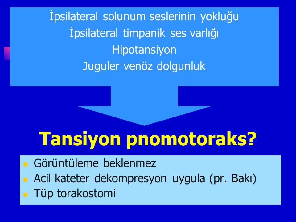 Penetre göğüs veya abdominal travmalı çocukta eğer vital bulgular yeni kaybolduysa resusitatif torakatomi hayat kuratarıcı olabilir. Çocukta, künt tra