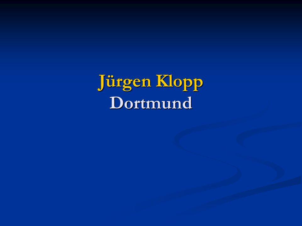 Jürgen Klopp Dortmund