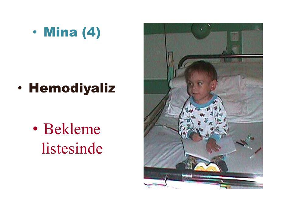 Mina (4) Hemodiyaliz Bekleme listesinde