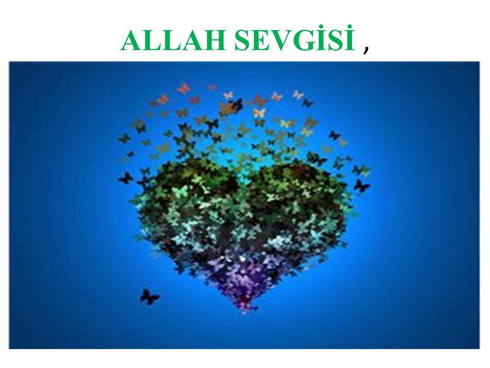 ALLAH SEVGİSİ,