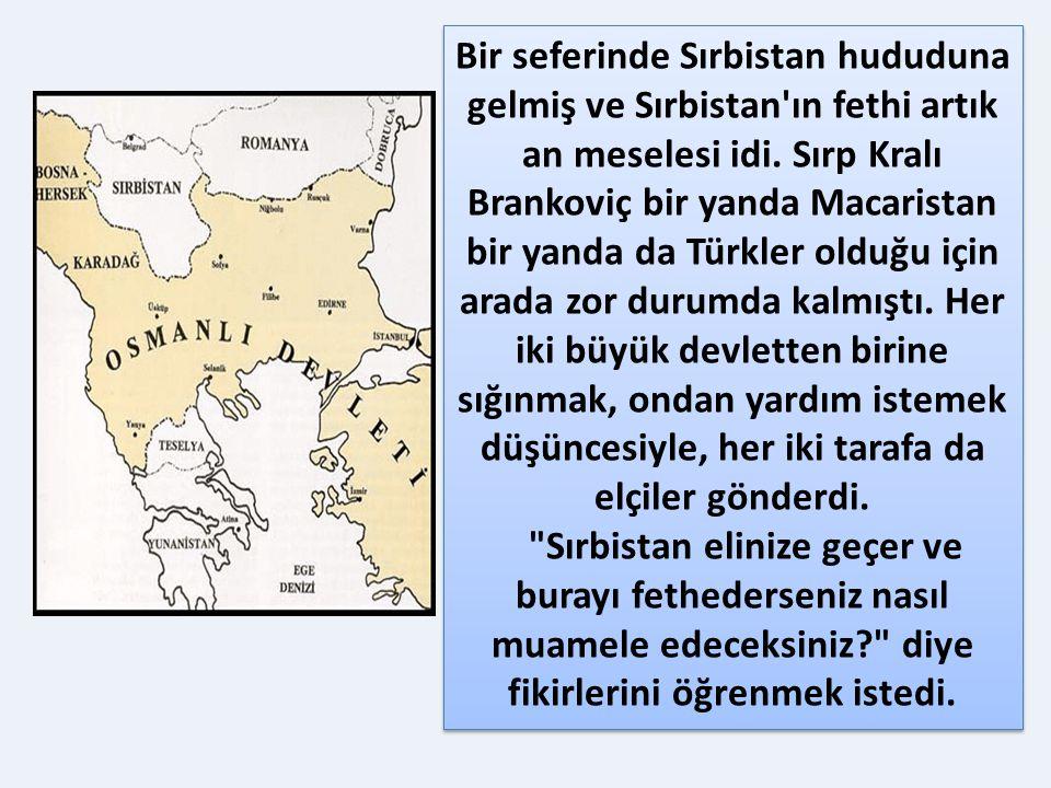 BİR OLAY BİR GERÇEK: FATİH'İN MUAMELESİ BİR OLAY BİR GERÇEK: FATİH'İN MUAMELESİ Fatih Sultan Mehmed İstanbul'u fethettikten sonra, Avrupa'da fütuhata