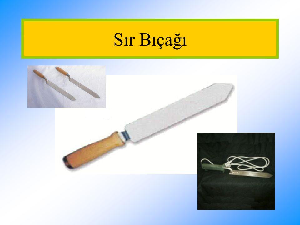 Sır Bıçağı