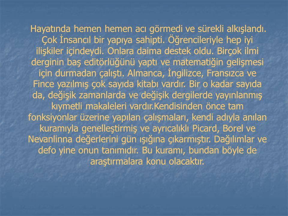 HAZIRLAYANIN ADI : Aptullah SOYADI : BAYAR NO : 0101010247 BÖLÜMÜ : Matematik MUĞLA - 2005