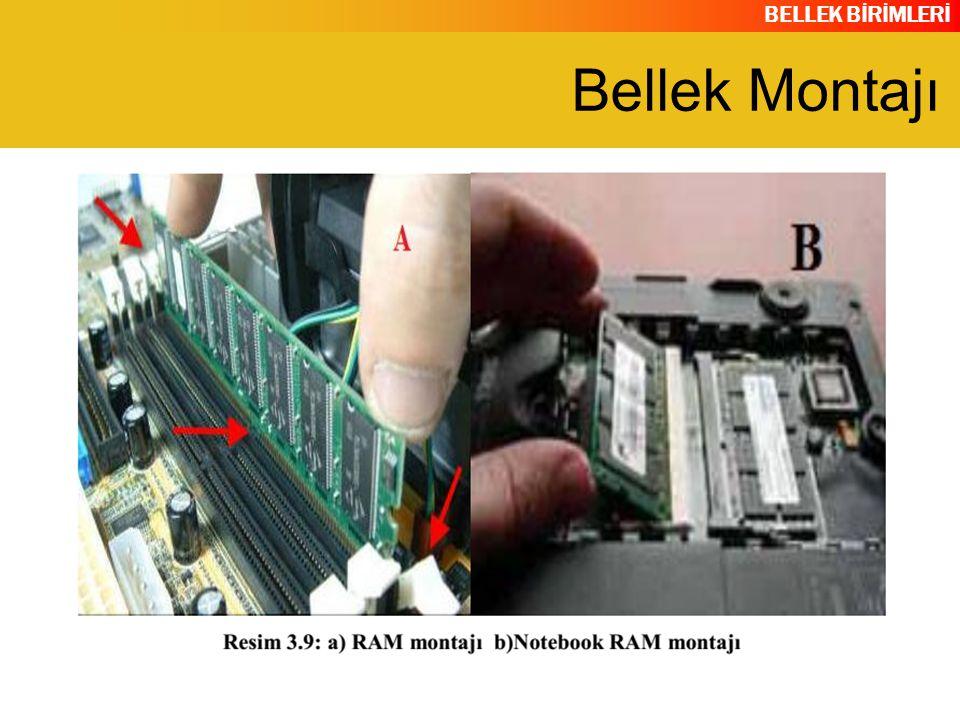 BELLEK BİRİMLERİ Bellek Montajı