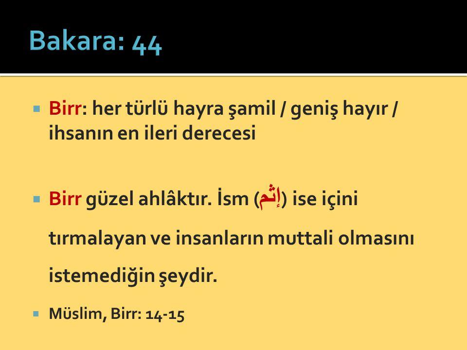  Sabır: musibete / tâate / ma'siyetten  Sabret.Çünkü Allah muhsinlerin emeğini zayi etmez.