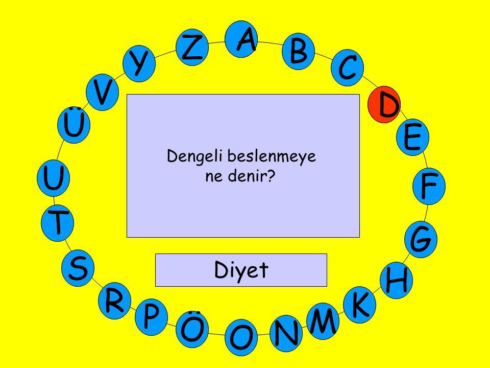 A M Ü V Y Z E D C B A U T G F S P Ö O H K N R E Bir dik açılı üçgenin bir açısı 40  ise diğer açı kaç derecedir.