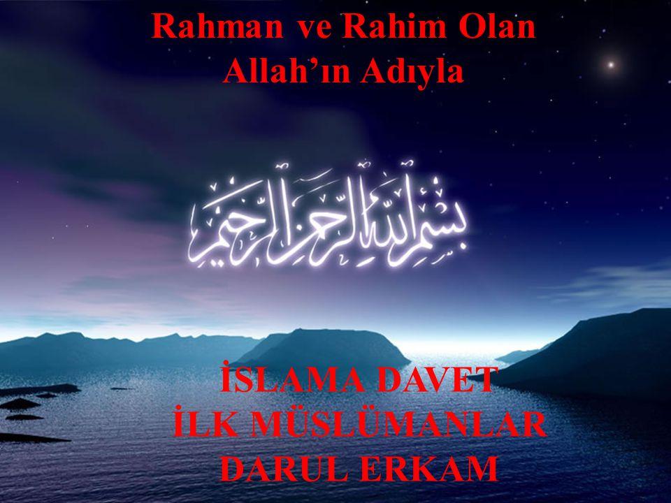 3.PEYGAMBERLİĞİN MEKKE DÖNEMİ 3.2. İslama Davet ve İlk Müslümanlar Kalk ve yere sağlam bas.