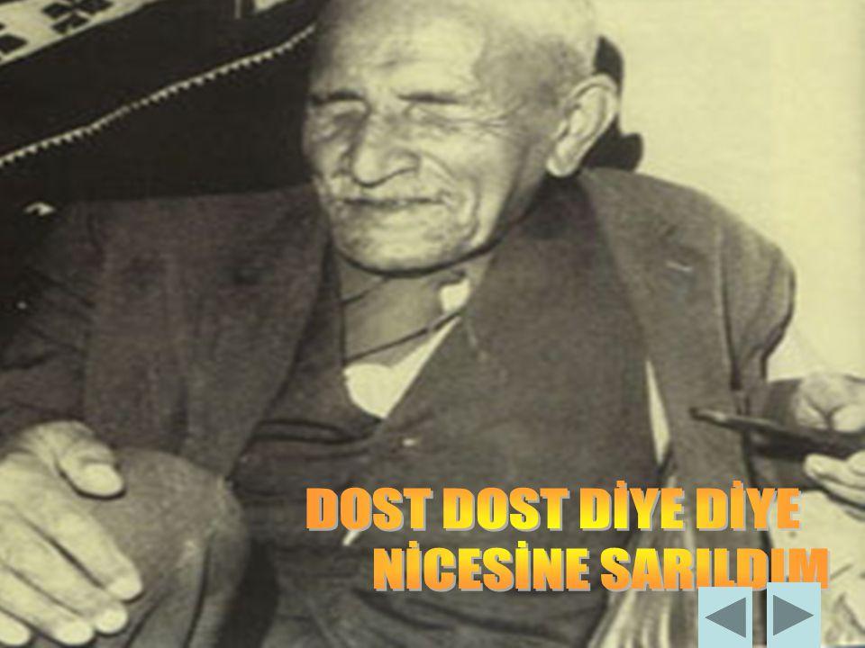 Aşık Veysel; Anadolu, toprak sevgisi, köy sorunları ve acılı hayatını işler. Halk şairi geleneğini devam ettirir. Anadolu'yu köy köy, kahve kahve geze