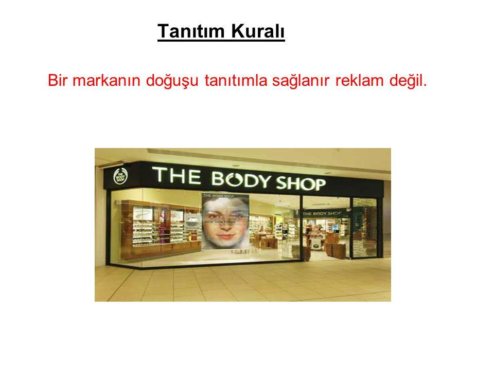 Reklam Kuralı Bir kere doğduktan sonra sağlıklı yaşaya bilmesi için markanın reklama ihtiyacı vardır.