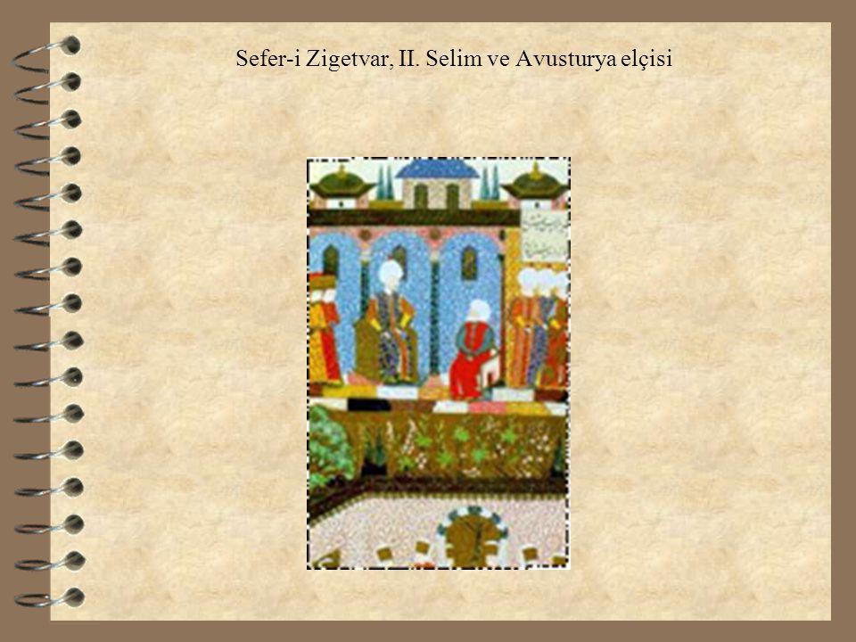 Sefer-i Zigetvar, II. Selim ve Avusturya elçisi