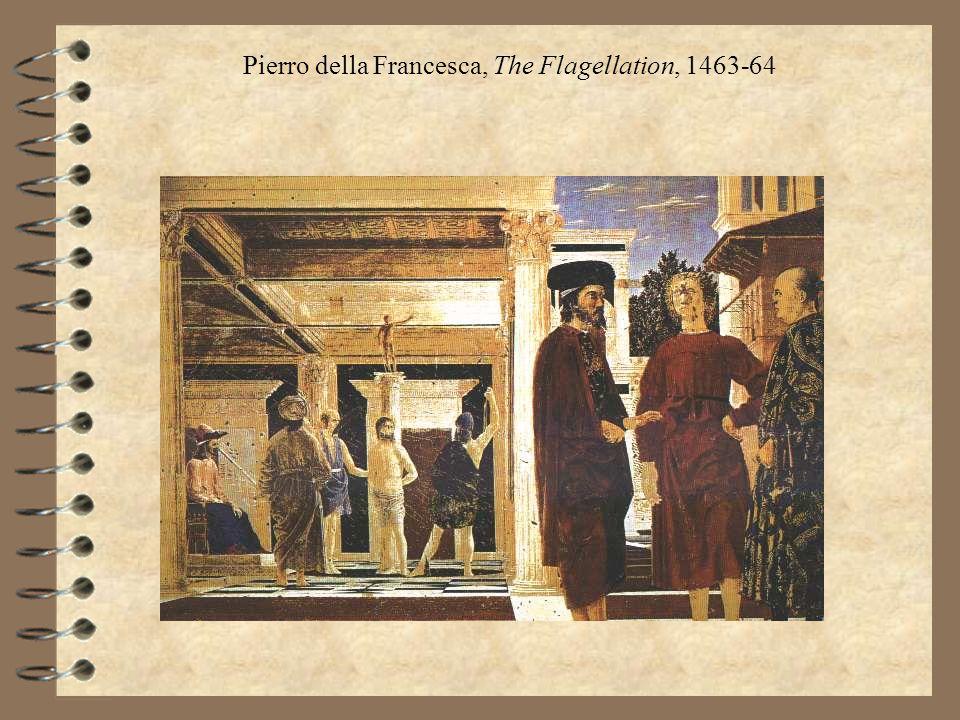 Pierro della Francesca, The Flagellation, 1463-64