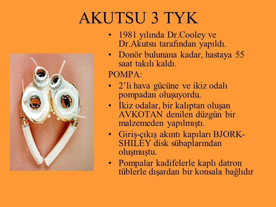 AKUTSU 3 TYK 1981 yılında Dr.Cooley ve Dr.Akutsu tarafından yapıldı.