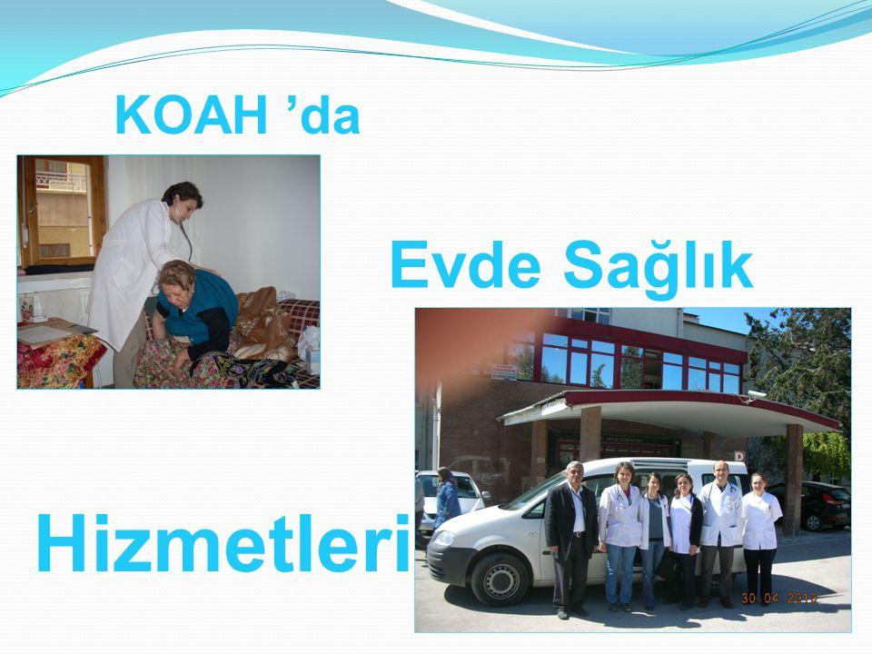 KOAH 'da Hizmetleri Evde Sağlık