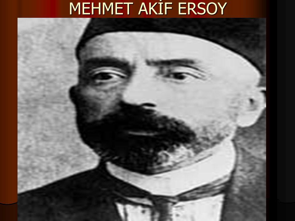 MEHMET AKİF ERSOY'UN HAYATI Mehmed Akif, 1873 yılında İstanbul'da, sade ve geleneksel bir hayatın yaşandığı Fatih'in Sarıgüzel semtinin Nasuh mahallesinde 12 numaralı evde (Büyük bir yangında harap olan bu semtin ortasından bugün Vatan Caddesi geçmektedir) dünyaya geldi.