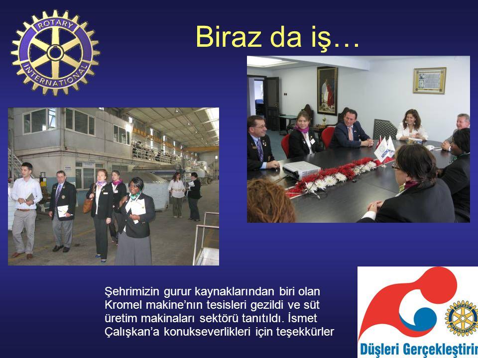 Sanat unutulmadı… Çark Rotary'nin düzenlediği Büyükakten Kültür merkezindeki sergi açılışına katıldık.