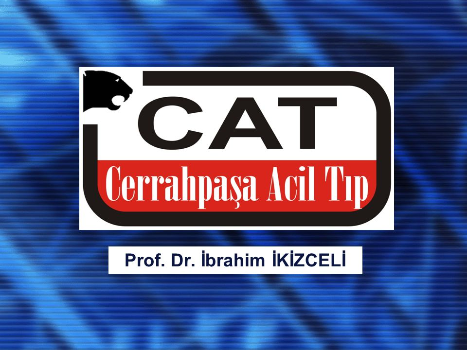 CERRAHPAŞA'DA ACİL TIP 1988 yılında Prof.Dr.
