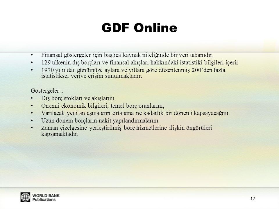 18 YENİ: ADI Online Afrika Ekonomisi ile ilgili temel kaynak niteliğinde bir veri tabanıdır.