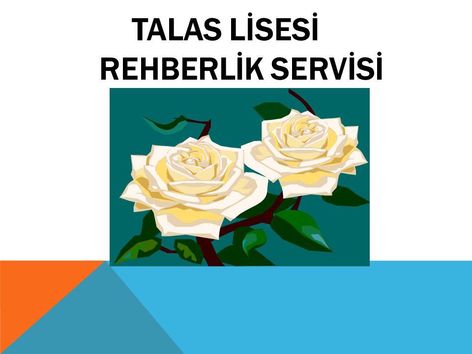 TALAS LİSESİ REHBERLİK SERVİSİ