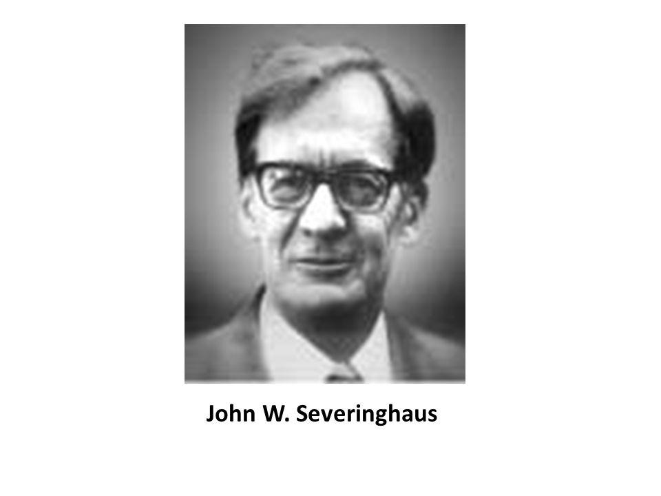 John W. Severinghaus