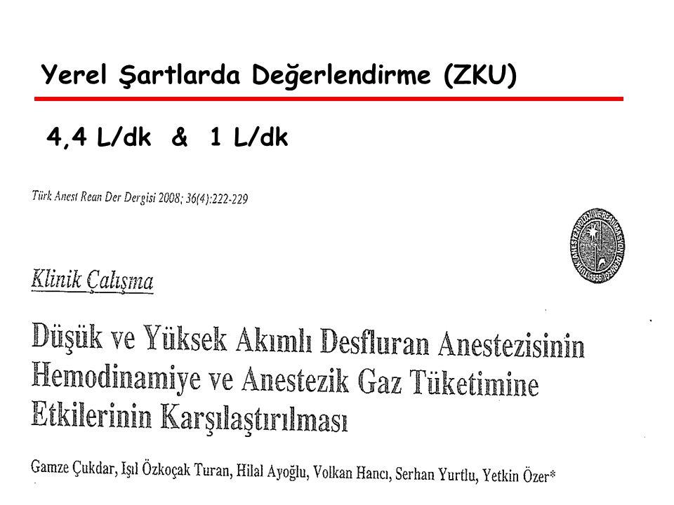 Yerel Şartlarda Değerlendirme (ZKU) Ortalama op.