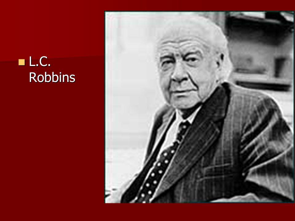 L.C. Robbins L.C. Robbins