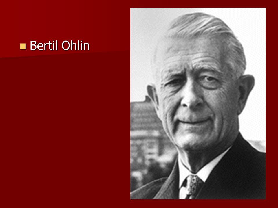 Bertil Ohlin Bertil Ohlin