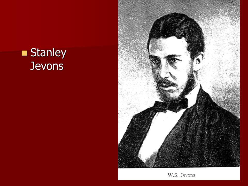 Stanley Jevons Stanley Jevons