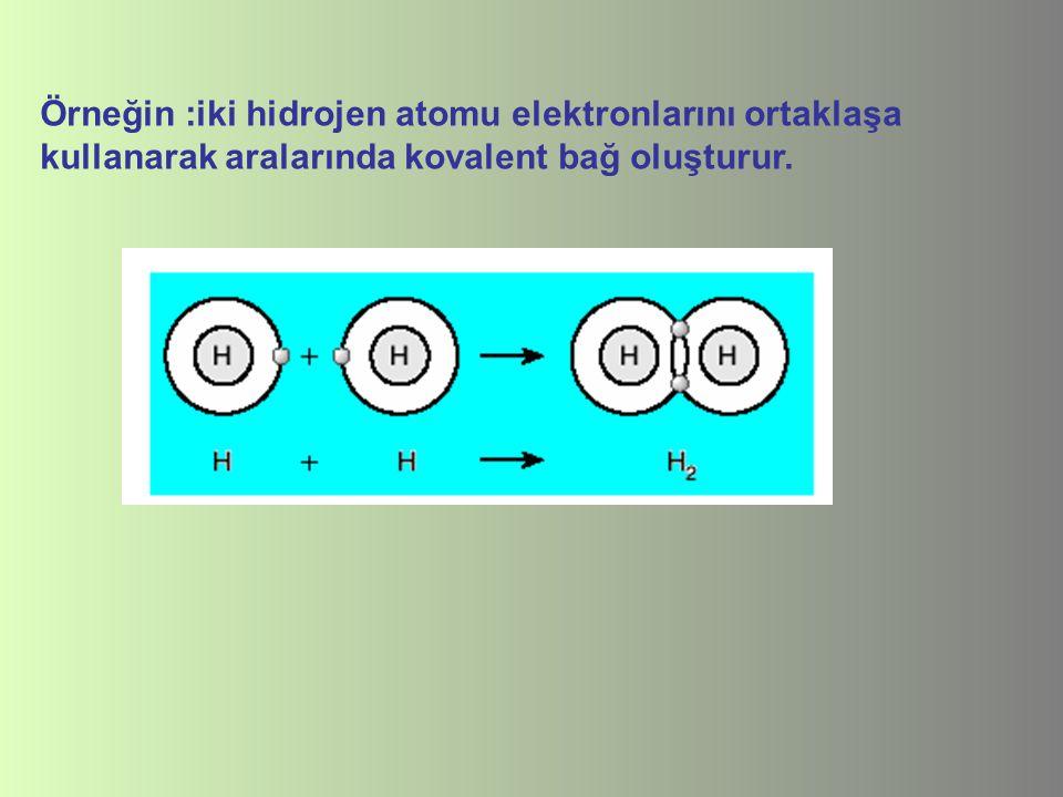 Oksijen (O2) molekülünün bağ yapısı