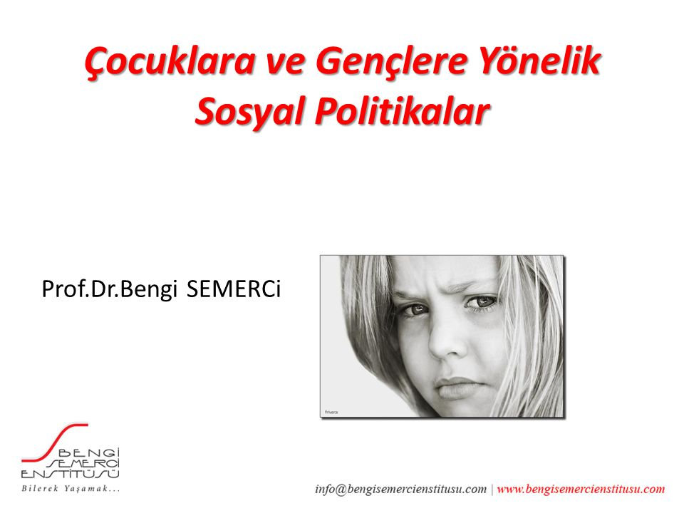 Prof.Dr.Bengi SEMERCi